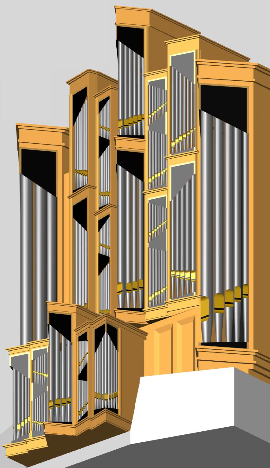 Orgel in 3D