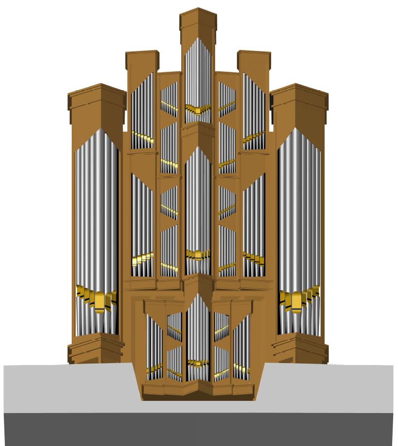Voorlopig ontwerp Ichthuskerk